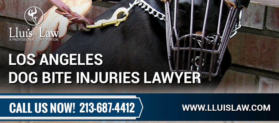 los angeles dog bite injuries lawyers